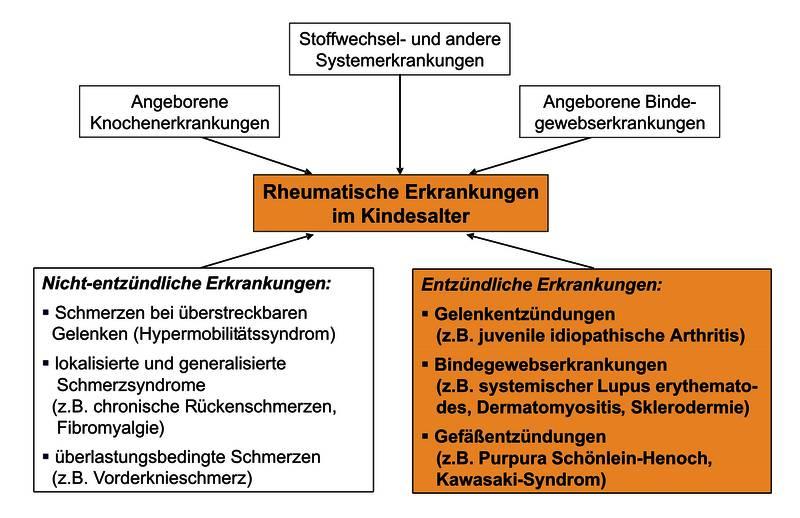 Rheumatische Erkrankungen im Kindesalter